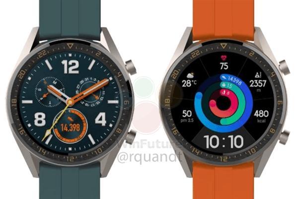 华为新款智能手表曝光:与P30 Pro同台亮相