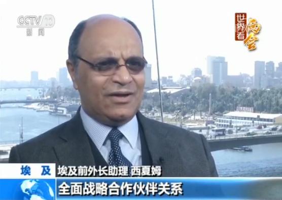 【世界看两会】埃及前外长助理:中国合作共赢理念惠及全世界