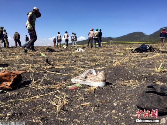 埃塞总理赴坠机现场指示进行全面调查 多方致哀