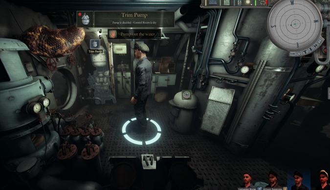新潜艇模拟游戏《Uboat》公布 支持简体中文