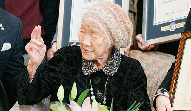 日本116岁老妪成为世界上最长寿的人 平时喜欢学数学