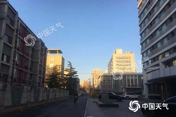 大风吹!本周北京阳光普照气温升 今明天有六七级阵风
