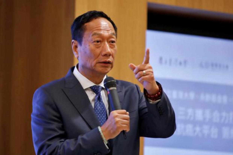 郭台铭称富士康未侵权 微软意在诈取保护费