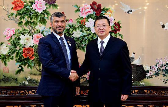 国家能源局:中国阿联酋将起草并签署能源合作计划