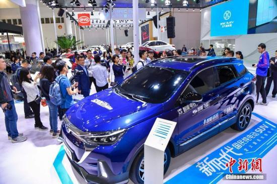 1月到2月中国汽车产销同比?#38470;?新能源车高速增长