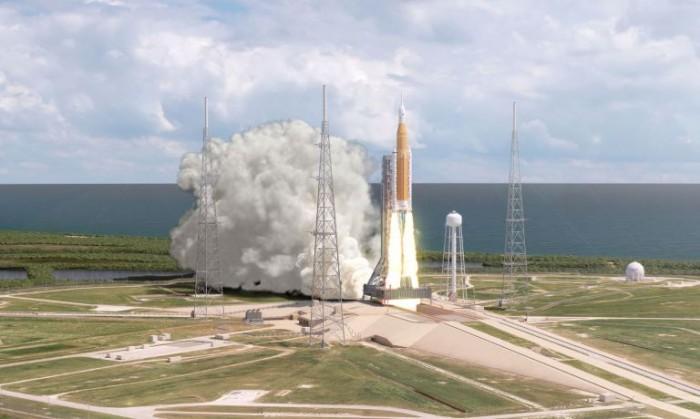 """NASA:太空发射系统和猎户座飞船将""""一起到来"""""""