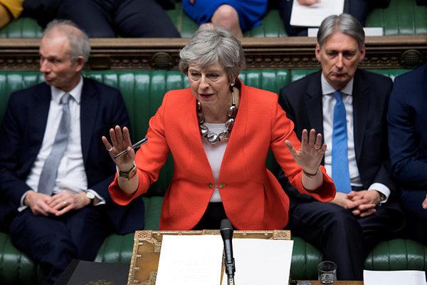 仅剩17天 英国脱欧协议草案以149票之差再被否决