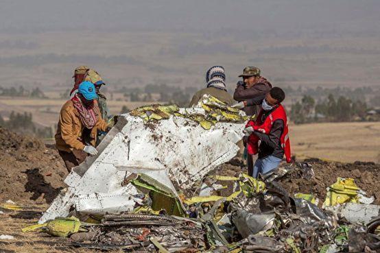 埃塞航空公司发言人:失事飞机黑匣子将被送往海外分析