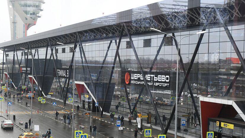 莫斯科机场一波音747客机被曝机翼挂了电线杆