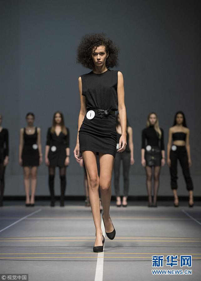 中国国际时装周:上演千人模特大面试
