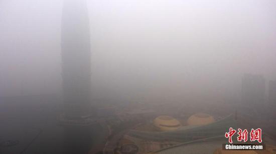 """河南空气污染反弹严重 污染物浓度值""""双升"""""""