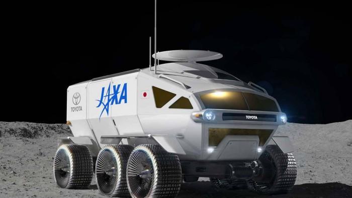 日本宇宙探索机构和丰田公司联合研发载人加压月球车