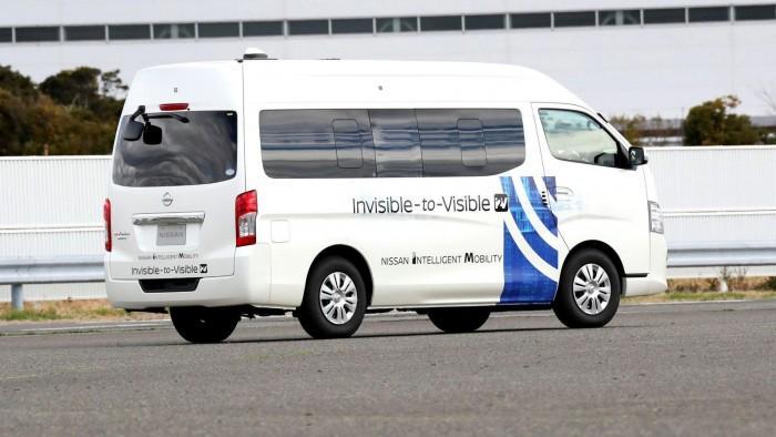 """日产正使用5G在日本测试其""""无形可视化""""技术"""
