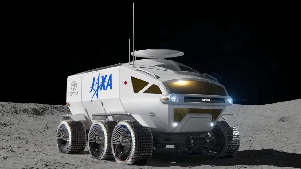 丰田与日本航天局互助登月 2029年发射月球车