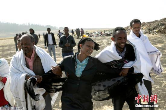 俄比亚航空公司ET302航班失事现场,机组人员Ayantu Girmay的母亲