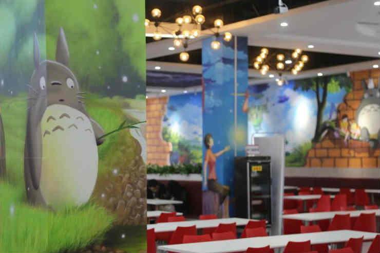 郑州高校建动漫主题餐厅颜值炸裂