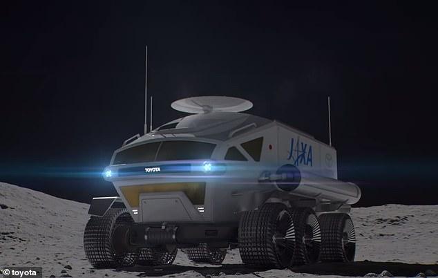 丰田展示月球车:可载宇航员巡航上万公里