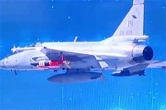 巴基斯坦JF-17战斗机挂载最新滑翔炸弹测试