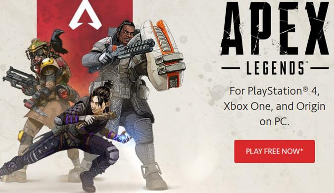 传EA花100万美元请网红Ninja宣传《Apex英雄》