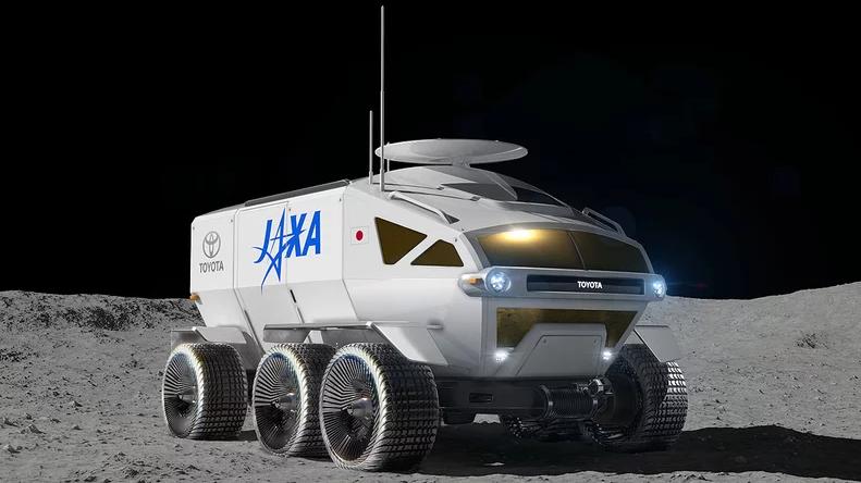 丰田研发自动驾驶载人月球车 采用燃料电池技术