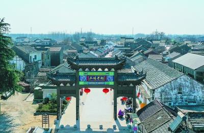 南京六合瓜埠景观改造工程完工 重现老街风貌
