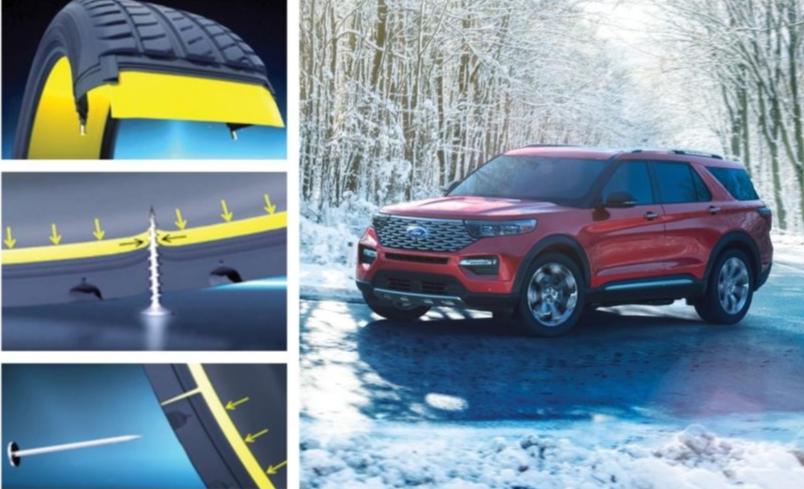2020款福特探险者将使用米其林自修复轮胎