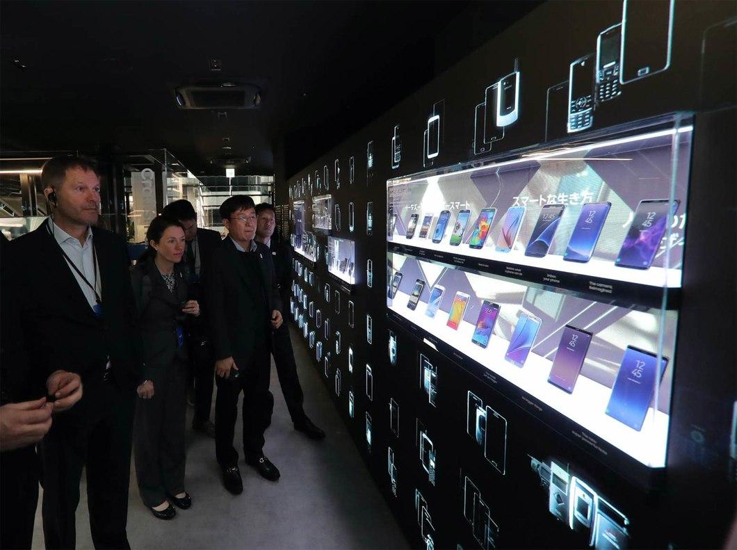 三星在东京开设最大规模的Galaxy旗舰店