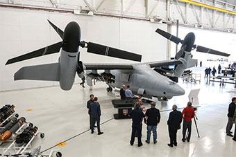 美国在美最大武器测试场测试最新无人机系统