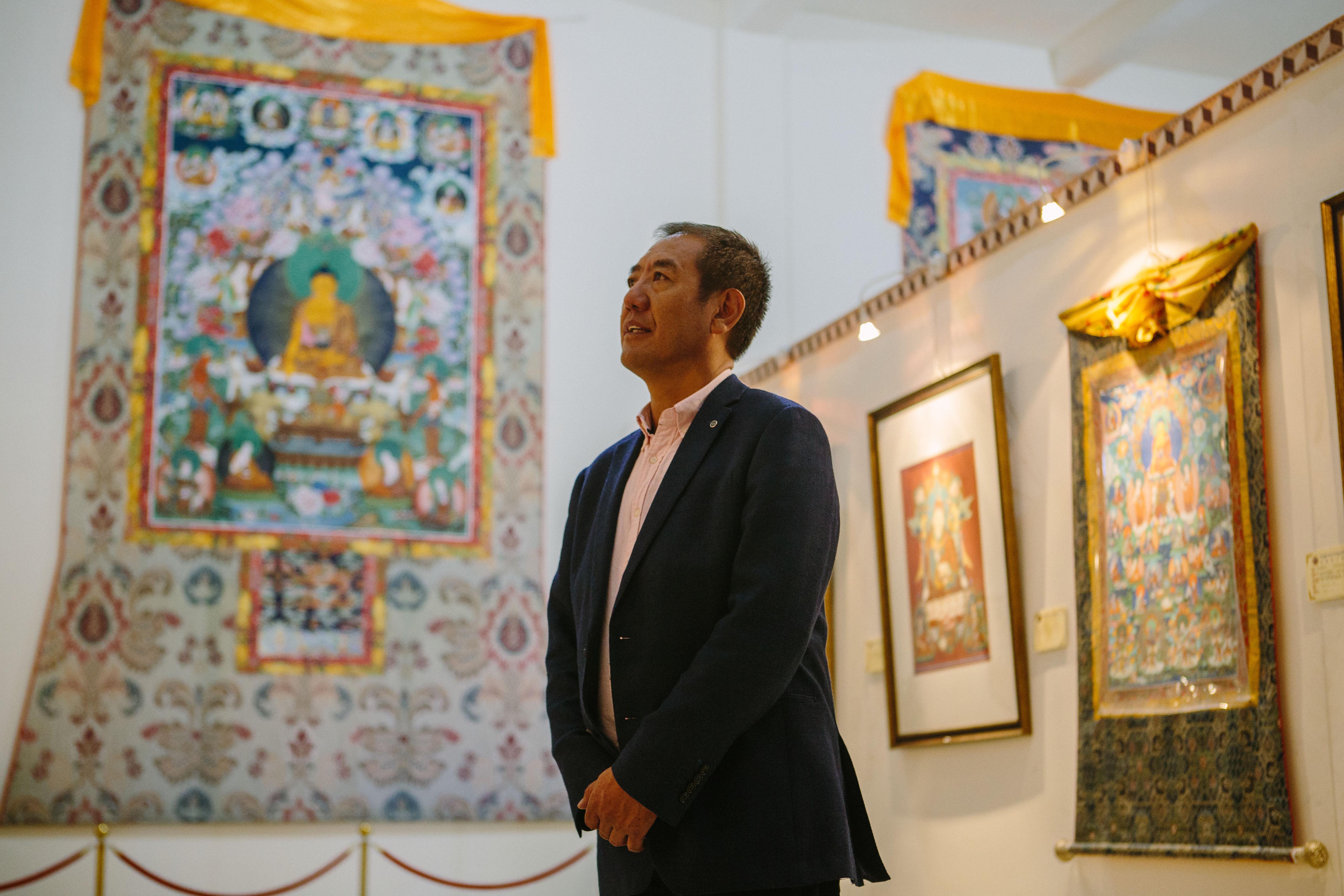 全国政协委员、唐卡勉萨派国家级非遗代表性传承人:唐卡艺术繁荣是藏文化保护的例证