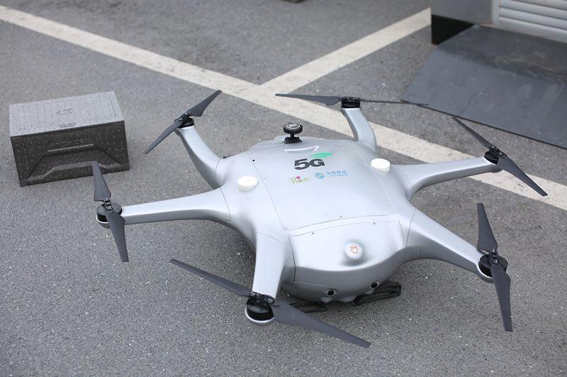 5G无人机替外卖小哥送餐?来看记者体验