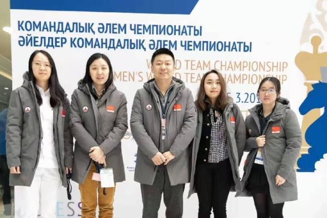 2019国际象棋世界团体锦标赛 中国女队豪取八连胜