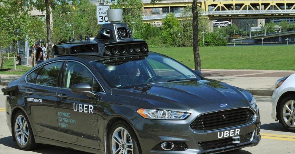 传软银想对Uber无人驾驶部门投资10亿美元