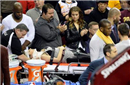 买得起NBA场边坐席很牛? 小心被壮汉撞得上?#28982;?#36710;