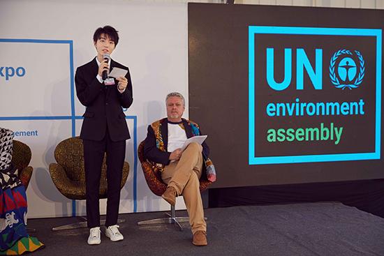 王俊凯应邀出席联合国环境大会 为环保发声