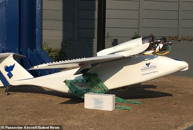 """飞机""""长腿""""?南非公司开发出跳跃式无人机"""