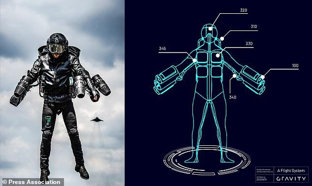 现实版钢铁侠套装获专利 打破吉尼斯飞行速度纪录