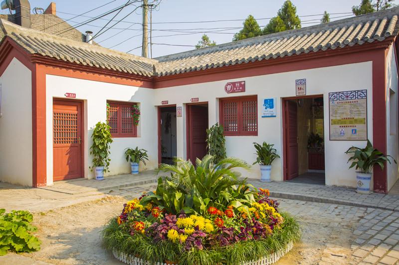 亳州:旅游公厕成为文明风景