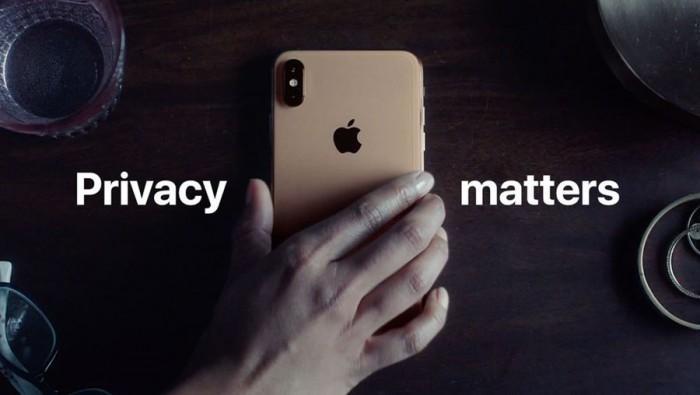 苹果分享幽默广告:隐私很重要,请使用iPhone