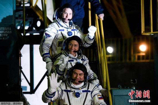 """俄媒:""""联盟MS-12""""号飞船已与国际空间站成功对接"""