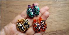 开心果壳也能制作成小蝴蝶