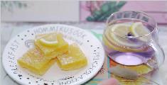 酸甜可口的柠檬方块挞