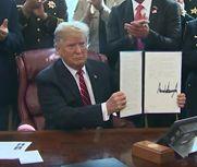 特朗普否决国会终止紧急状态决议