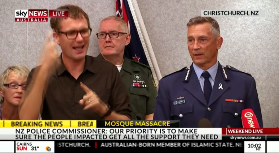 新西兰枪击案第四名被捕人员已被释放  警方:是带枪普通民众