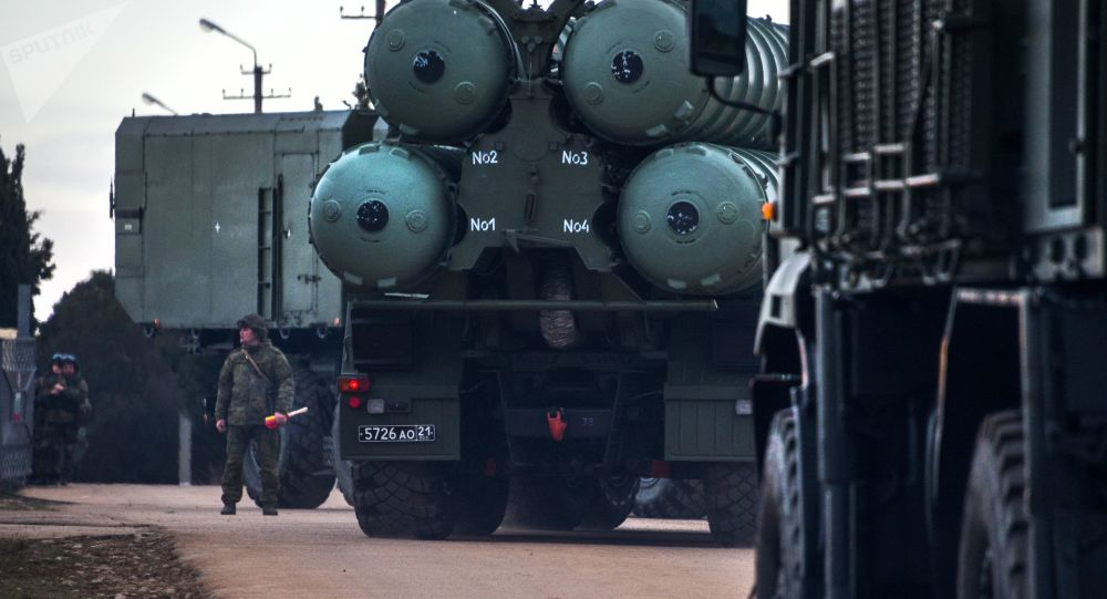 俄军又一套S-400系统在加里宁格勒战斗值班