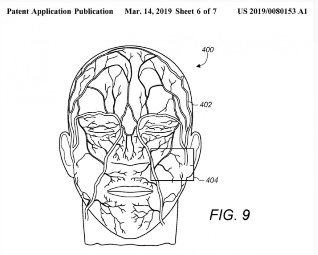 苹果正开发静脉识别新技术 将提升Face ID识别率