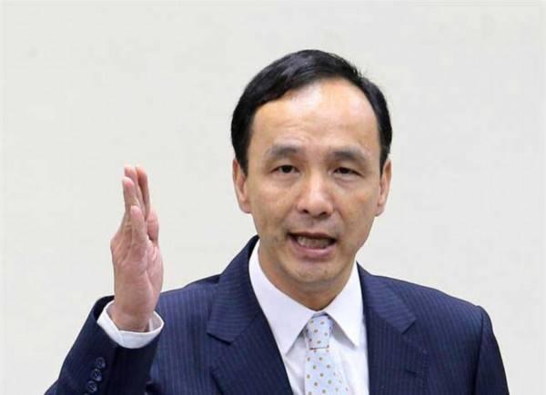 朱立伦:台湾不能当台海安全的麻烦制造者