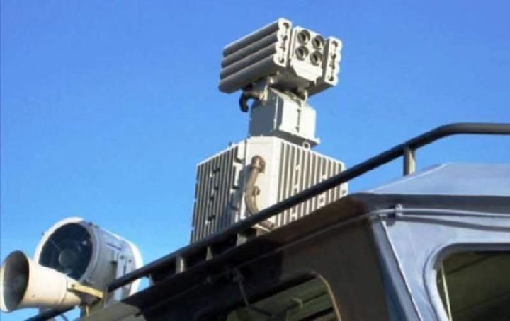 俄测试令人机暂时失明的光学干扰系统