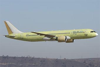 俄罗斯制造:波音737MAX竞争对手3号原型机首飞