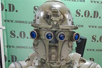 """比俄罗斯还硬核!意公司设计""""未来战士""""装备套装"""