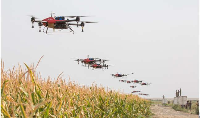 日媒:无人机和人工智能助力中国农业革命